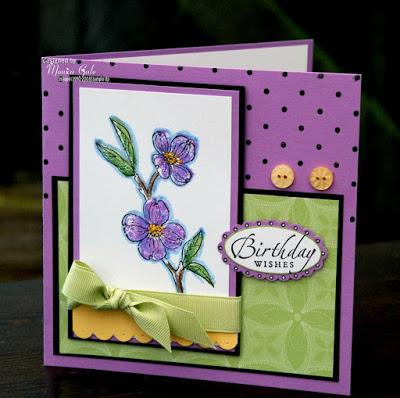 Sarah's card