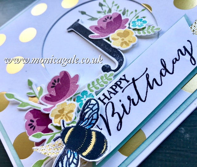 By Monica Gale Stampin'Up! UK demonstrator