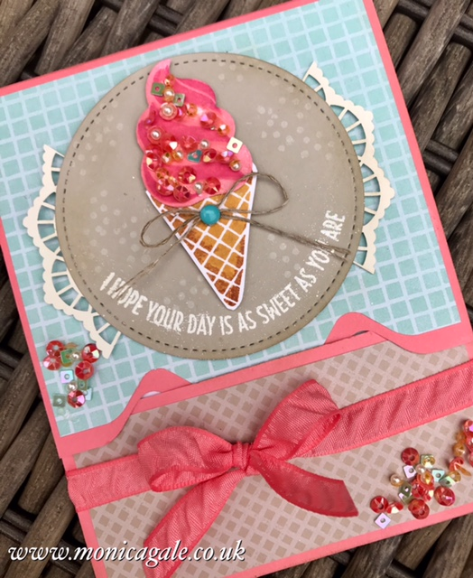 by Stampin'Up! demonstrator Monica Gale