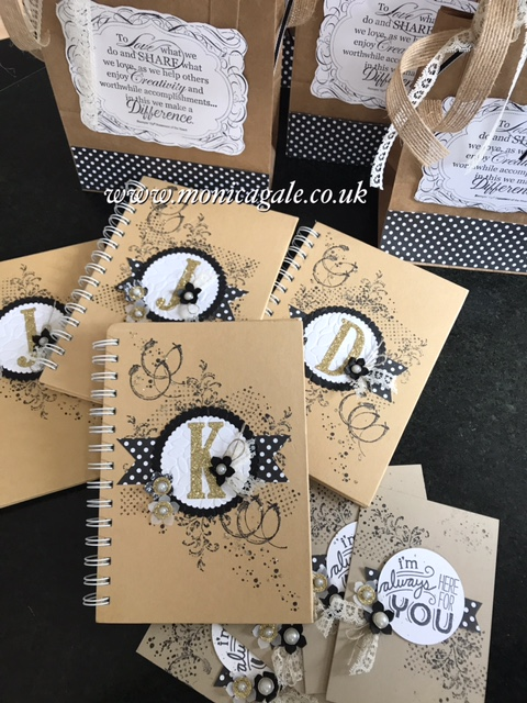 Monica Gale Stampin' Up! demonstrator in the UK