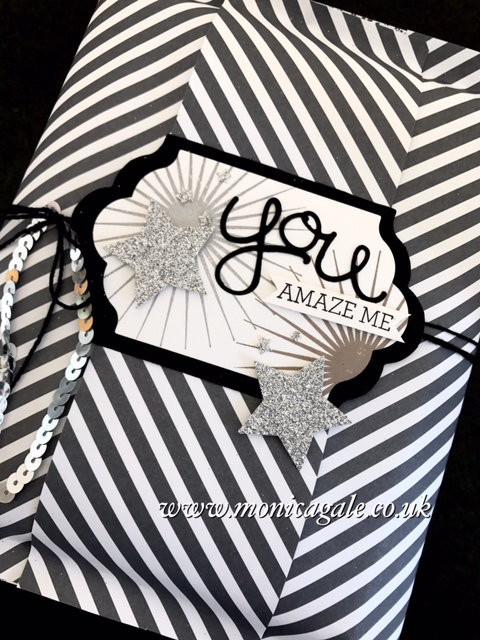 Stampin'Up Kinda Eclectic- Hello You Thinlits