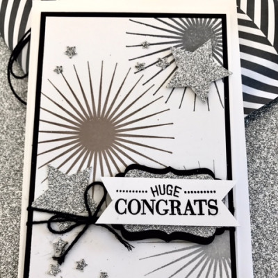 Stampin'Up! Kinda Eclectic for a Silver Celebration