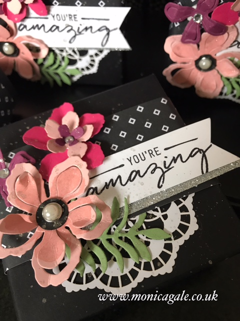 Designed by Monica Gale Stampin' Up demo in the UK