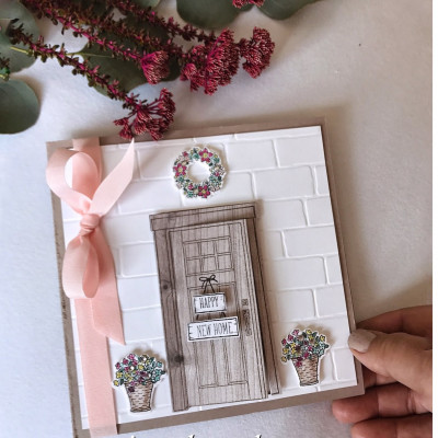 At Home With You- New Home Card
