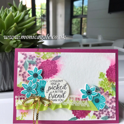 More Beautiful Bouquet from Stampin' Up!