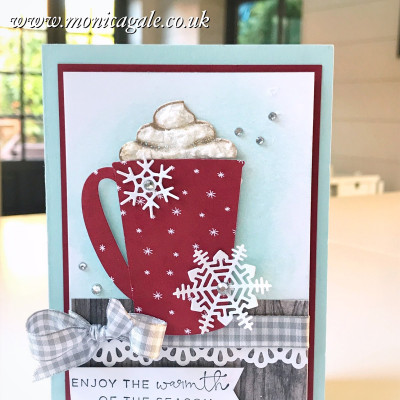 Stamp To Share Blog Hop – Coffee Cafe from Stampin Up !