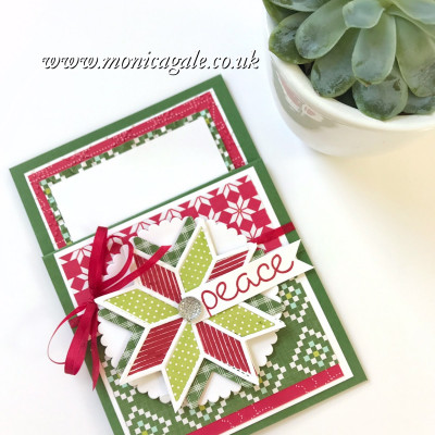 Fancy Fold Hop- Simple Pocket Card