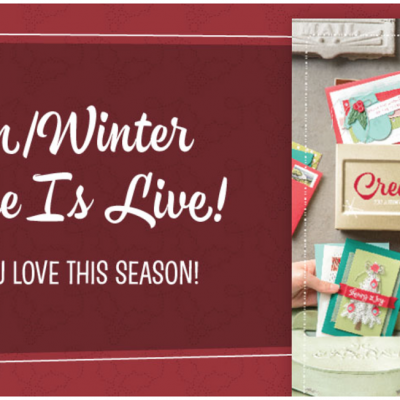 Stampin'Up! 2017 Seasonal Catalogue is Live Today