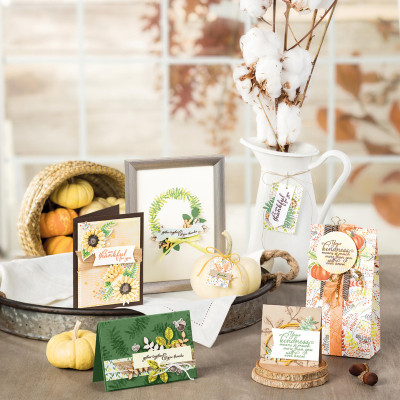 Stamp To Share- Painted Harvest from Stampin'Up!