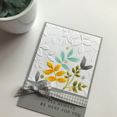 Be Inspired Blog Hop- Flowers and All the Leaves is our Theme this month
