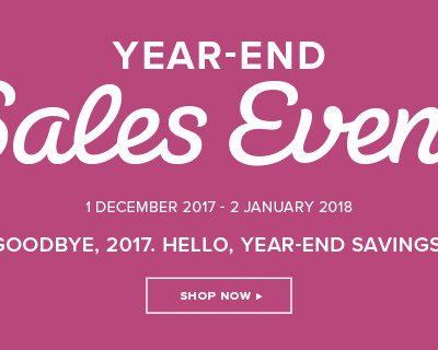 Hello December- End of Year Sale is ON