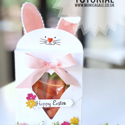 Easter Bunny Treat Bag from Stampin Up