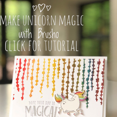 Brusho Unicorn Magic