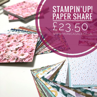 2017-2018 Stampin'Up! Paper Share- Preorder Now