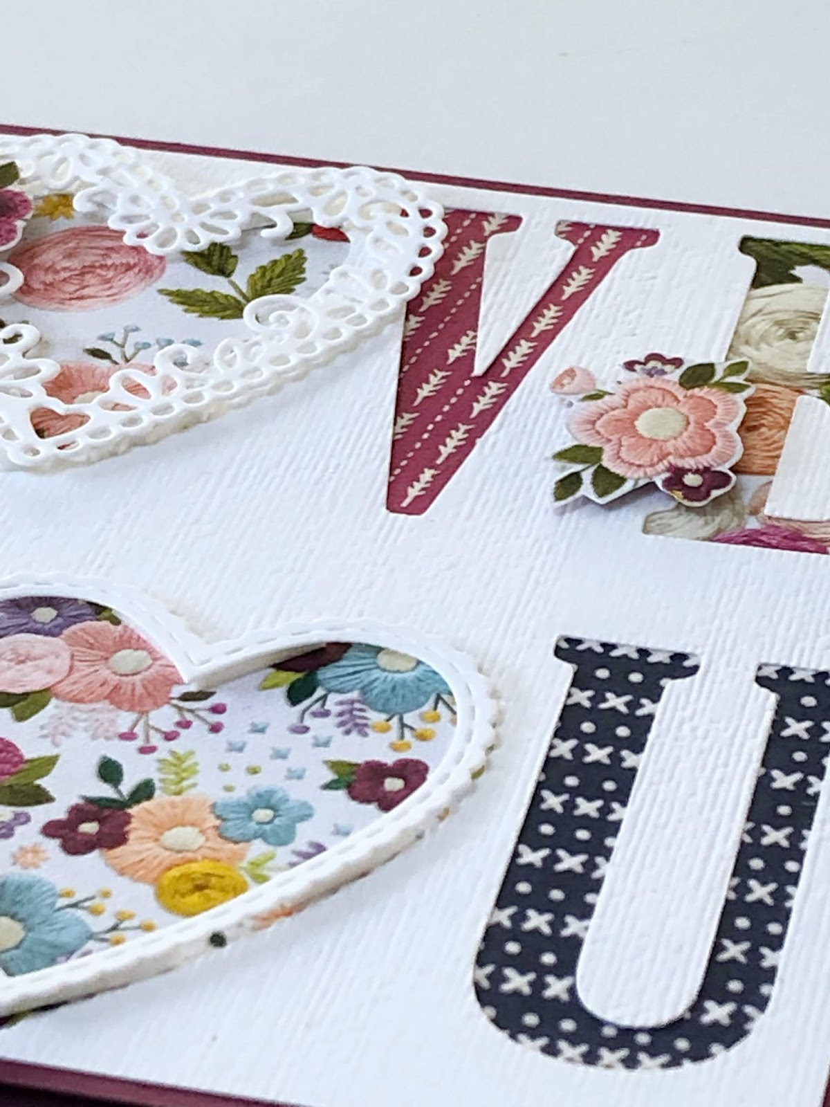 SO versatile- Large Letters from Stampin' Up!! by www.monicagale.co.uk