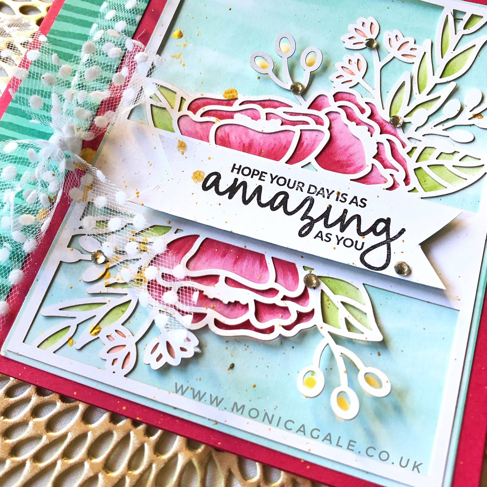 Handmade card using Incredible like you stamps sets from Stampin up