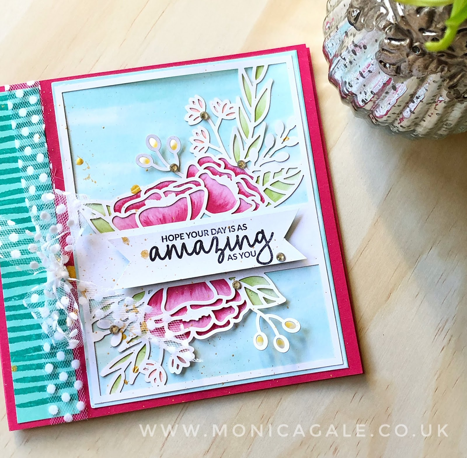 Handmade Card using Stampin' Up! Incredible like You stamps