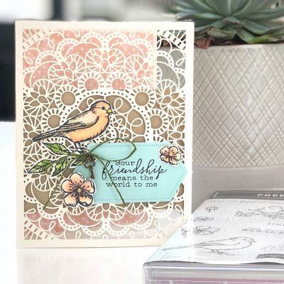 Be Inspired Blog Hop- Anything goes Stampin' Up! Bird Ballad