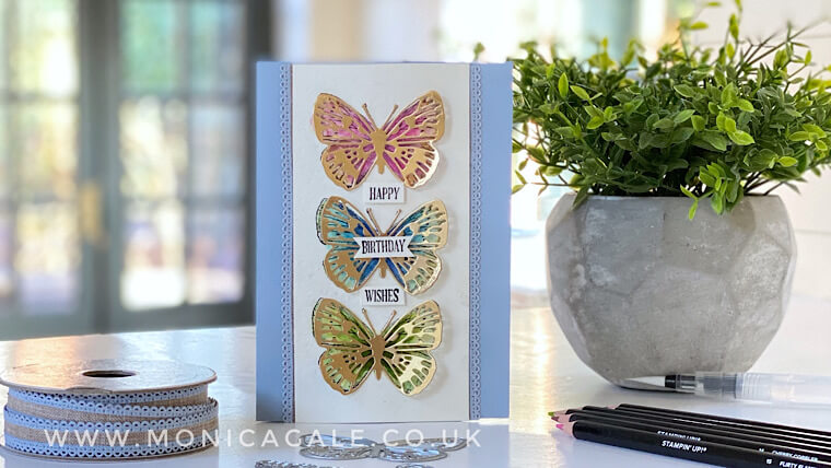 Handmade card ideas using Butterfly Bouquet suite from Stampin' Up!