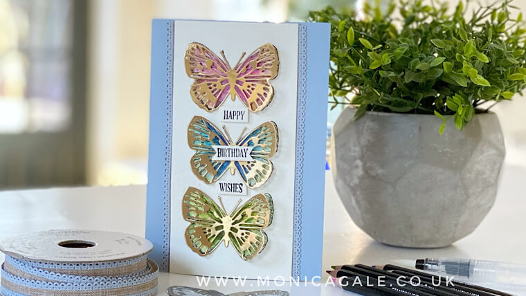 Stampin' Up! Handmade card ideas using Butterfly Bouquet suite