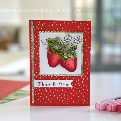 Sweet Strawberry from Stampin' Up!