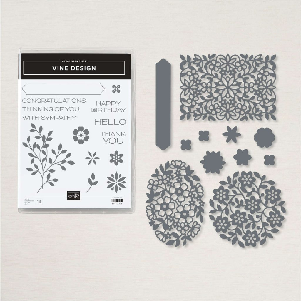 Stampin Up Vine Design Product Bundle image