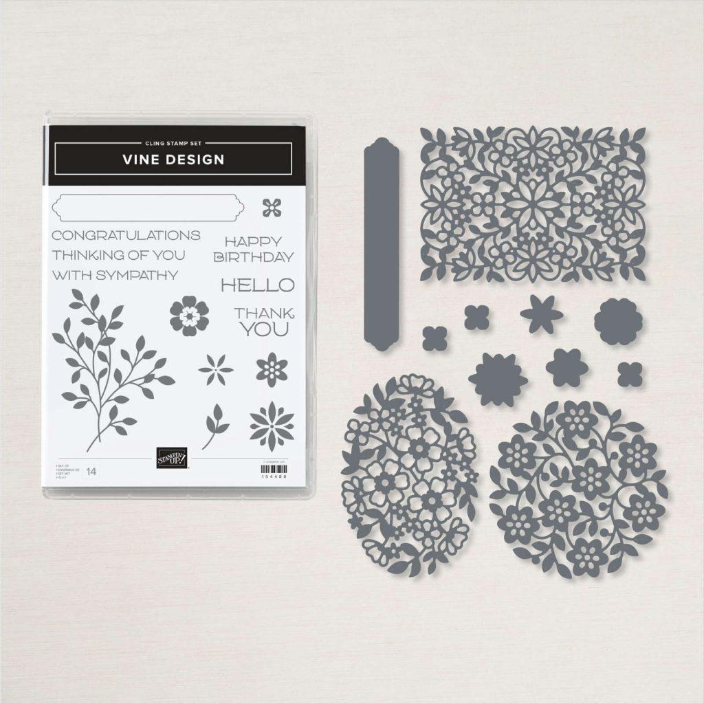Stampin Up Vine Design Product Bundle image