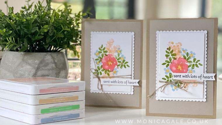 Stampin' Up!  INSPIRING IRIS projects with step by step tutorial