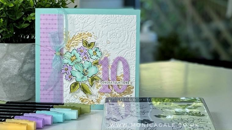 Hand Penned Stampin'Up! Congratulations card ideas