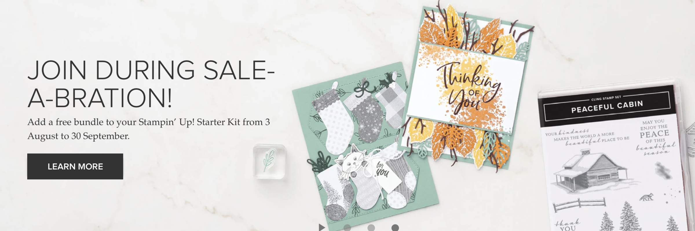Stampin'Up! Sale a Bration -Join Monica Gale UK demonstrator